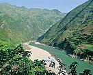 The Yangtze River - the Chinese Eden of biodiversity.
