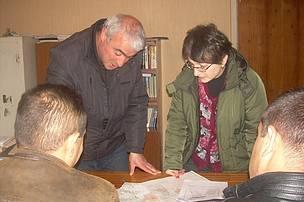 Հանդիպումներ անտառտնտեսության աշխատողների և համայնքների հետ