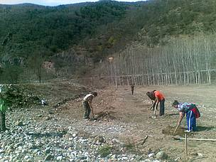 Spring Forestation at Vrachanski Balkan Nature Park  / ©: EFA
