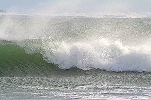 The power of the Scottish surf will run the turbines on the proposed Siadar wave energy station.