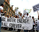 WWF joins thousands in the streets of Durban, South Africa for the Global Day of Climate Action.