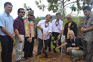 FORMADAT planted trees as part of the conservation activities
