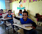 Students of the Alciane Barbosa da Silva Municipal School in Oiapoque are learning to value and protect the nearby national park.