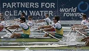 The International Federation of Rowing Associations and WWF are partners for clean water.
