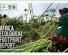 Cover of the Africa Ecological Footprint Report 2012: Green  Infrastructures for Africa's Ecological Security. 
