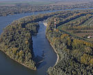Liberty Island on the Danube River in Hungary after a restoration project by WWF and partners