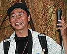 Albertus Tjiu, Orangutan researcher and project leader for Kapuas Hulu in WWF-Indonesia in West Kalimantan