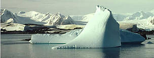 Iceberg. Rothera Station, Antarctic Peninsula, Antarctica.