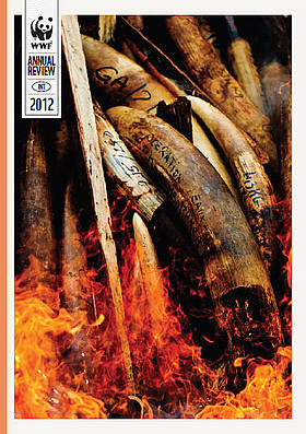 Annual Review 2012 Cover / &copy;: WWF