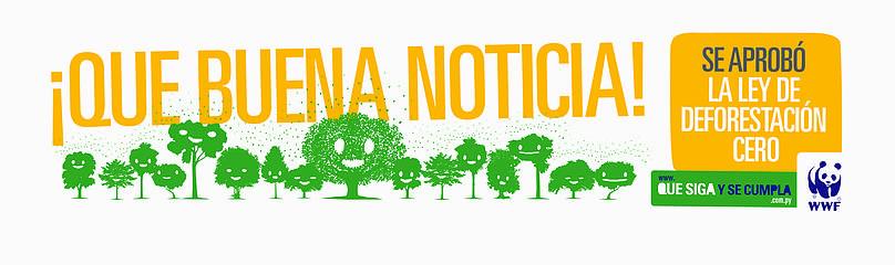 ¡Que buena noticia! / ©: Brandon / WWF Paraguay