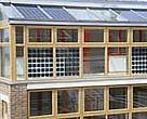 The BedZed housing development in south London helps residents choose healthier lifestyles with less impact on the environment.