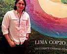 Benjamin Coreas, activista de la Campaña Mesoamericana de Justicia Climática en El Salvador.