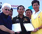 Toyota embarks on a new partnership with Bang Pu Nature