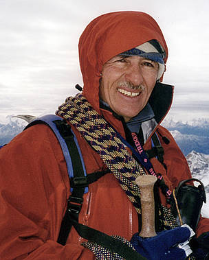 Marco Bomio, school teacher and mountain guide in Switzerland, has witnessed a decline in local ... / ©: Marco Bomio