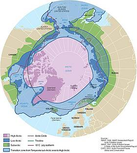 Several definitions of the Arctic as a region exist and are all used extensively. / &copy;: Philippe Rekacewicz, UNEP/GRID-Arendal 