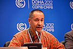 Bruce Cabarle at the COICA side event, UNFCCC-COP18. © WWF/Jennifer Ferguson-Mitchell