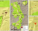 Degradación forestal en la zona núcleo de la Reserva Monarca 2013-2014. Áreas afectadas.