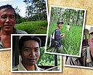 Rangers in the Eastern Plains Landscape, Mondulkiri province, eastern Cambodia.