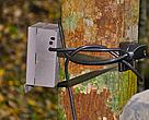 A camera trap set for capturing wildlife activities during on-field-training course. This is a part of the camera trap training in Ta-ouy District, Salavan Province, Laos