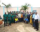 Participants in a wildlife law enforcement training