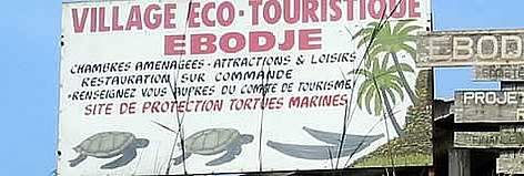 Small-scale ecotourism in Ebodje, Buffer zone of Campo-Maan National Park, Cameroon 2004 rel=
