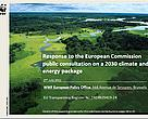 WWF position on 2030 EU Climate and Energy policy