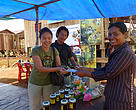 Tourists can buy honey from this community-based honey enterprise in Pou Chrey commune, Mondulkiri