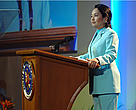 President Gloria Macapagal -Arroyo extends a warm welcome to the participants of the Coral Triangle Initiative Business Summit, Manila, 19-20 January 2010.