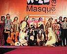 Costume contestants for the Wild Masquerade Ball 2006, organized by WWF and TRAFFIC.