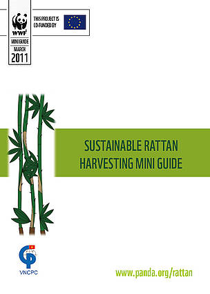 Cover for Sustainable Rattan Harvesting Mini Guide