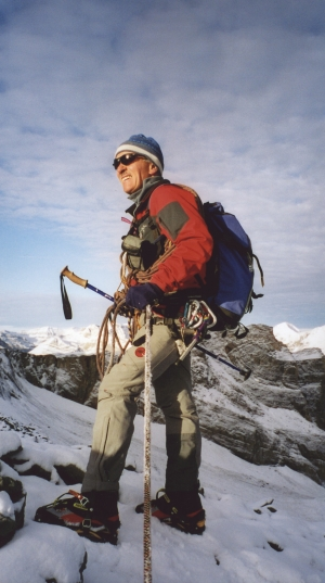 Marco Bomio, school teacher and mountain guide in Switzerland, has witnessed a decline in local glaciers over recent years.
