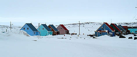 Taloyoak, a small community on the Boothia Peninsula in Canada's Nunavut Territory. rel=