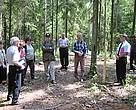 Demonstration forests in northern Latvia show how forestry can be done in an environmentally friendly way and still provide economic benefits.