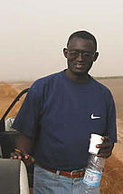 n the field, in the Saloum delta: Dr Papa Samba Diouf, Marine Conservation Officer and Head of ... / &copy;: WWF-Canon / Olivier van Bogaert
