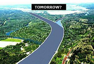 ...and as the Drava-Mura confluence may be tomorrow. 