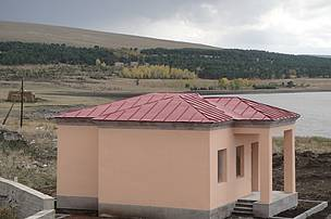 Guesthouse of the Lake Arpi National Park in Berdashen community