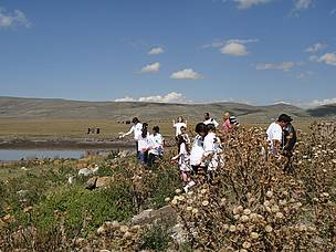 "Cleaning ""Lake Arpi"" National Park Area"