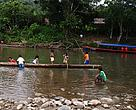 Photos of indigenous people from the community of Quichua Unionmuyuna, Province of Napo.