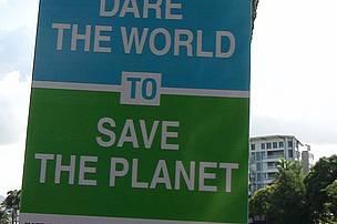 Directional Banner along Ratu Cakobau Road