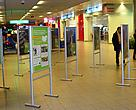 Photo exhibition about a WWF restoration project in ten nature parks in Bulgaria, Sofia Airport
