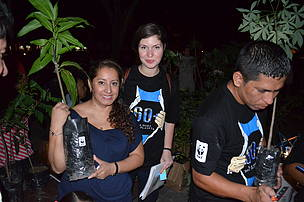 Daiana Radulescu from Romania, WWF Communications Volunteer with WWF Bolivia in 2013