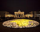 Earth Hour, Brandenburg Gate in Berlin, Germany