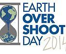 Logotipo del Día del Sobregiro de la Tierra 2014