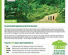Forests for Good factsheet