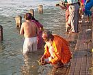 The Ganges River is important for Indians not just because it is a great source of water, but also because it is considered a holy river and a source of spirituality and purification
