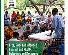 Cover image: FPIC and REDD+ working paper 2014.