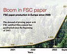 FSC paper boom in Europe since 2000