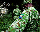 Anti-poaching patrol, Gabon