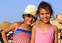 Tunisian girls on the beach in Tabarka / ©: WWF Mediterranean - Marina Gomei