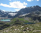 Hydropower dams in the Alps (June 2011).